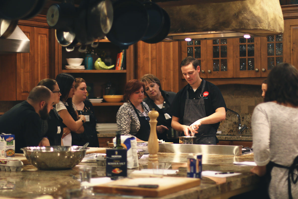 Chef Tom's Homemade Pasta Class