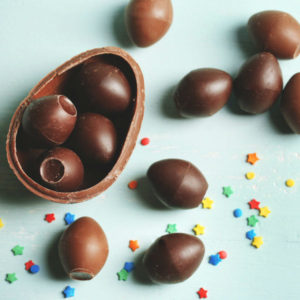 Making Chocolate Easter Eggs